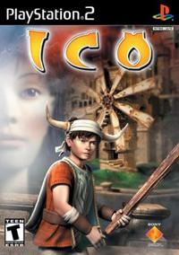 het spel Ico (hoes van de eerste uitgave)
