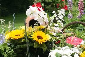 Pensioen bloemen